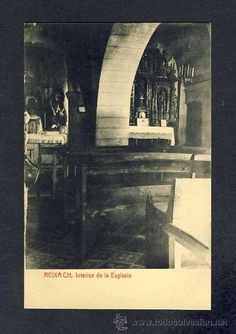 Postal de MONTCADA I REIXAC (Barcelona): Interior de l' Església (Thomas) (Postales - España - Cataluña Antigua (hasta 1939) - Barcelona Provincia)