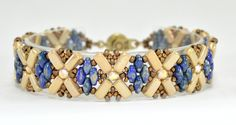 Xs and Os Bracelet by AndreaCatherineJewel on Etsy