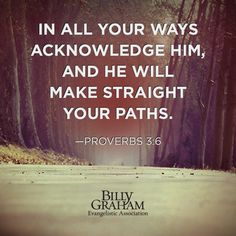 REDE MISSIONÁRIA: HE WILL MAKE STRAIGHT YOUR PATHS (PROVERBS 3:6)