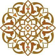 Arabesque Designs (Page 6) - stock illustration clip art. Buy royalty free clipart images on disc by Lushpix Illustration