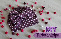 DIY Turbaanipipo rusetilla