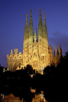 'Barcelona, Spain - no matter how long  you look at this cathedral you always see something new. Amazing!!