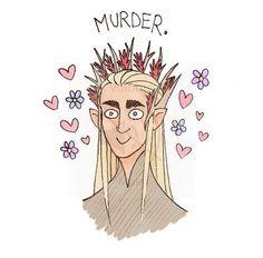 Thranduil makes murder fabulous