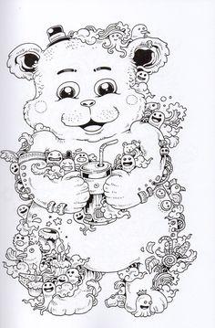 Doodle Coloring Books - 26 Doodle Coloring Books , Lets Doodle Coloring Pages Coloring Home Spring Coloring Pages, Free Adult Coloring Pages, Animal Coloring Pages, Coloring Book Pages, Doodle Coloring, Colouring Pics, Doodles, Doodle Art Designs, Doodle Art Drawing