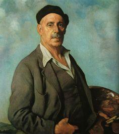 Self-Portrait, 1942 by Ignacio Zuloaga,(Spanish 1870-1945)