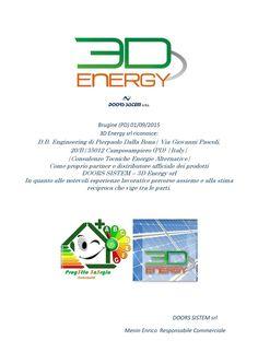 Nascita pannello fotovoltaico