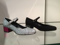 Bebe by #SaintLaurent #shoes #shine #glitter #FolliFollie #FW14collection