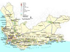 Image result for map of western cape suburbs Beaufort West, Maps, Google Search, Board, Blue Prints, Map, Planks, Cards