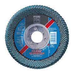 Polifan Disque Ventilateur 115 X 22,2 Zircone Courve pour Soudures D/'Angle
