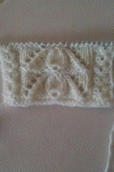 "diy_crafts- ""Just the photo no pattern. Can't tell if the garter stitch is a neck band or an armhole."", ""This post was discovered by ke"", Knitting Stiches, Arm Knitting, Knitting Charts, Baby Knitting Patterns, Knitting Designs, Crochet Patterns, Easy Crochet, Crochet Baby, Knit Crochet"