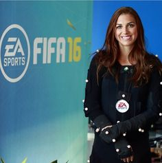 Alex Morgan about to become a video game. (Instagram)