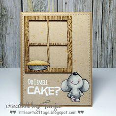 Gerda Steiner Designs: Do I smell Cake?