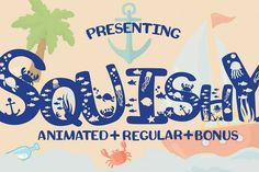 Squishy Craft Font - Free Font of The Week was our Free Premium Font Of The Week. Our Free Font Of The Week is available each week exclusively from Font Bundles. Grab your free fonts for a limited time only Mermaid Font, Mermaid Kids, Beach Fonts, Display Font, Summer Font, Mermaid Stories, Heart Font, Read Letters, Kid Fonts