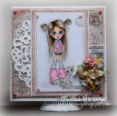 Me myself and scrapping ~ SC Pint Sized Love ~ colors not listed.