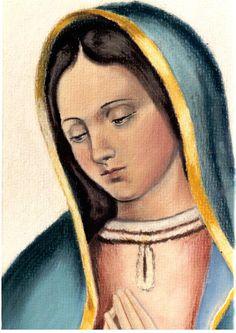 Estampa Guadalupana 1531 - 4