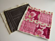 Joining quilt as you go blocks    http://lilysquilts.blogspot.com/2011/04/quilt-as-you-go-joining-blocks.html#