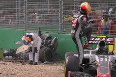 フェルナンド・アロンソ、無念のクラッシュリタイア / F1オーストラリアGP  [F1 / Formula 1]