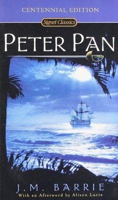 Peter Pan (Signet Classics) by J. M. Barrie http://smile.amazon.com/dp/0451520882/ref=cm_sw_r_pi_dp_pg3uxb1S06ZVG