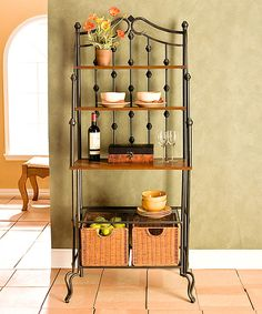 Look at this Saint Pierre Baker's Rack on #zulily today!