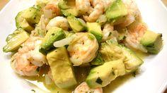 Avocados und Garnelen ergeben zusammen einen tierisch leckeren Salat.