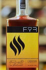 """Fȳr liqueur, """"handcrafted in Colorado."""" www.jldistilling.com"""