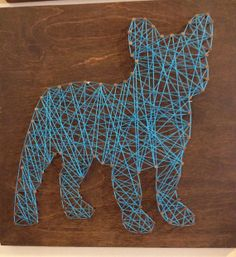 String and Nail French Bulldog Mini by HeartsOnAStringLLC on Etsy, $35.00
