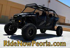 2014 Polaris® RZR® XP 4 1000 EPS Custom Black Stock: P63706   RideNow Powersports Peoria
