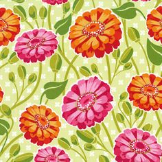 Michael Miller Fabric  Patty Young  Lush by MoonaFabrics on Etsy, $9.25