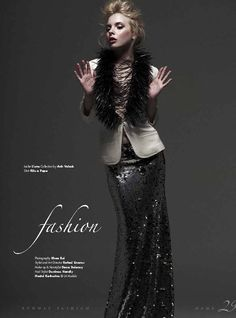 In Runway Magazine www.lunecollection.com
