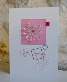 445 Best Cards With Paper Flowers Images In 2020 Cards Paper
