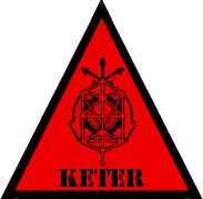 SCP Foundation: Keter Symbol (Warning) by Lycan-Therapy.deviantart.com on @deviantART