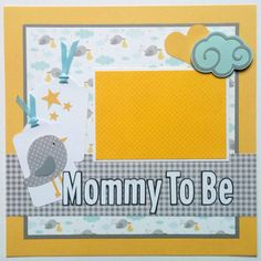 Baby scrapbook page  12x12 Baby scrapbook page  by ohioscrapper
