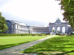 Esplanade du Cinquantenaire - Bruxelles - Œuvre commandée et financée par Léopold II pour célébrer les 50 ans de la naissance du royaume de Belgique