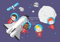 ILL148, 5월이벤트데이, 5월, 이벤트데이, 이벤트, 에프지아이, 벡터, 사람, 생활, 라이프, 캐릭터, 남자, 여자, 어린이날, 소년, 소녀, 어린이, 친구, 단체, 웃음, 쾌활, 행복, 우주복, 우주, 행성, 인공위성, 달, 로켓, 별, 4인, 과학, 위성, 일러스트, illust, illustration #유토이미지 #프리진 #utoimage #freegine 19890850