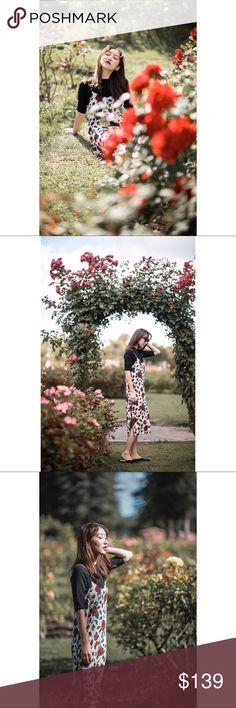 Ganni Elmira slip dress Size 2. 100% Silk Ganni Dresses Midi