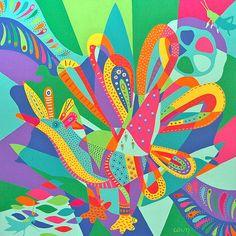Arte Mexicano | Pintora Lourdes Villagomez