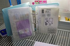 A great way to store those acrylic stamps