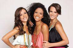 Victoria Briceño, Eva Herbert y Valeria Valle, finalistas de Chica E! Venezuela 2011