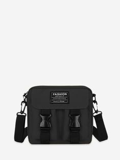 Crossbody Bags For Travel, Chain Crossbody Bag, Small Crossbody Bag, Leather Crossbody Bag, Travel Bags, Buckle Bags, Round Bag, Black Leather Backpack, Messenger Bag Men