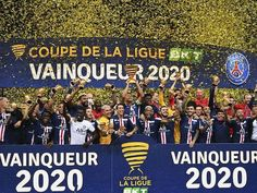 PSG beat Lyon to win French League Cup.... French League, French Cup, European Football, Psg, Champions League, Lyon, Crib, Beats, Sports