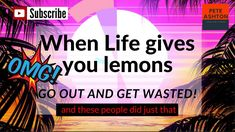 "The funniest compilation of drunk people having a bad day (night ) so, "" when life gives you lemons - go out and get wasted "" gone wrong. Youtube Share, Drunk People, Videos Please, Gone Wrong, Having A Bad Day, You Videos, I Hope You, Social Networks, Fails"