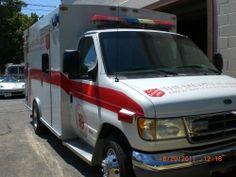 Krankenwagen der Heilsarmee in den USA