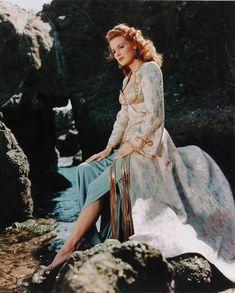 "Maureen O'Hara in ""Baghdad"" (1949). Costumes by Yvonne Wood."