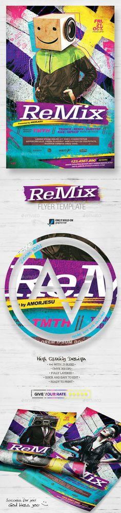 Remix Flyer Template V2