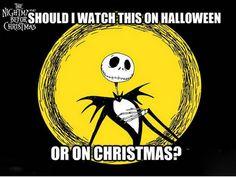 BOTH! Tim Burton's Nightmare Before Christmas #Disney
