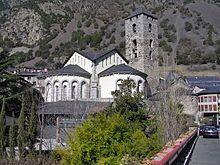Andorra la Vella - Sant Esteve Church