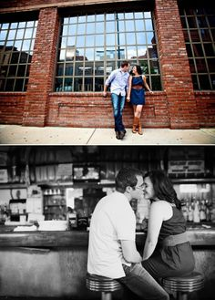 downtown denver engagement shoot on a colorado wedding blog