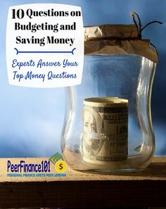 You asked - they answered! Top 10 questions about #budgeting and #saving money answered by the experts. Experts in personal finance answer your 10 most common questions about budgeting and saving! - PeerFinance101