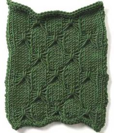 Stitch Gallery - Butterfly Stitch | Yarn | Free Knitting Patterns | Crochet Patterns | Yarnspirations