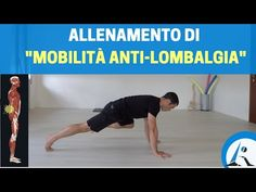 "ALLENAMENTO completo anti-LOMBALGIA (esercizi ""alternativi"") - YouTube"